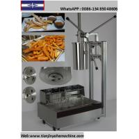 Quality TJ-8 Stainless Steel Commercial Churro Depositor And YH-83 12L Electric Fryer for sale