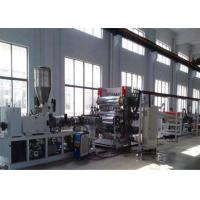 PP PE PVC Plastic Sheet Extrusion Line Plastic Sheet  / Board Extrusion Machine