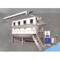 China Stainless Steel Overflow Textile Fabric Dyeing Machine For Bleaching and Dye on sale