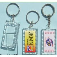 Acrylic key tag