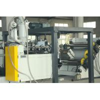 Quality 1000mm Width PMMA GPPS APET Plate Extrusion Line Easy Operation for sale