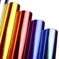 Quality Multi Colors Hot Stamping Foil Rolls for Plastics Glass Metallic Products for sale