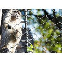 Quality 316 Stainless Steel animal enclosure mesh For Monkey for sale