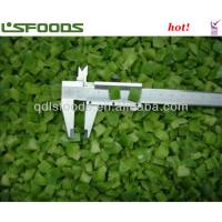 Quality frozen green pepper for sale