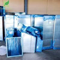 Quality 3 mil Removable Clear Blue Duct Covering Adhesive Shield Film for sale