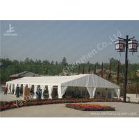 Quality Portable Aluminum Structure Big Party Tents , Amazing White Fabric Party Marquee for sale