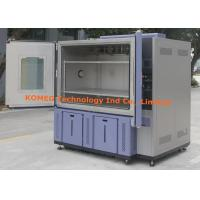 LCD Touchscreen Control Double Open Door Climatic Test Chamber With RS485 Ports