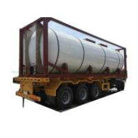 30FT T 4, T7 Syrup Tank Container for Food Products Stainless Steel Imo Equipped with Insulation Heating by Steam Test Pressure 0.4MPa (40bar)