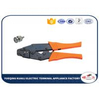 Quality Ratchet Crimping Tool For Coaxial Connectors / Wire Crimper Tool for sale