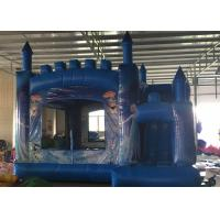 Quality Yard Inflatable Bouncy Jumping Castles With Zipper Outlets To Deflate The Bouncers Quickly for sale
