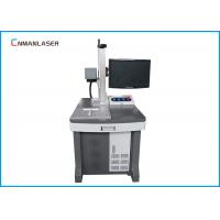 Quality Wood Bamboo Glass Ceramic 30 W Co2 Laser Marking Machine With Galvo Scanning System for sale