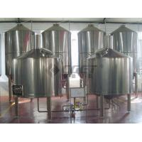 Quality Draft Beer Stainless Steel Brewing Equipment 200L 300L 500L Ss Fermentation Tanks for sale