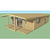 Quality Strong Plasticity Custom Container House , Steel Frame Prefabricated Houses for sale