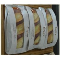 Quality kraft paper bakery bag with window for sale
