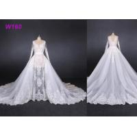 Quality Perspective Fantasy Bride Female Wedding Dress High End Detached Tail for sale