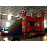 Buy cheap New inflatable football bouncer house inflatable baseball jump house soccer bouncer with slide from wholesalers