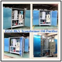 Quality 1800L/H 75kv High Vacuum Oil Purification Machine for Used Transformer Oil, Small Size Transformer Oil Purifier for sale