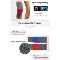 Quality Compression Full Knee Support Brace Sleeve Silicone Padded Pain Relief Gym Sport for sale
