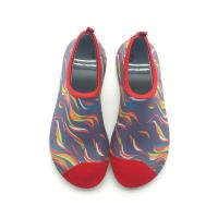 Quality Colorful Soft Aqua Socks Water Skin Shoes Quick Dry Customized Printing for sale