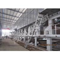 Quality A Grade Fluting Paper Machine Fourdrinier Wire Kraft Paper Manufacturing Machine for sale