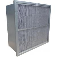 Quality Rigid Deep Pleated Hepa Filters For HEPA Air Filtration System for sale