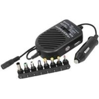 Quality With LED show DC 80W universal laptop computer charger for car use - ALU-80D1C for sale