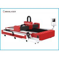 Quality 1000w Stainless Steel Silver Metal Tube Fiber Laser Cutting Machine Price for sale