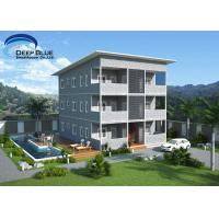 Buy cheap SOHO Steel Structure Prefab Apartment Buildings from wholesalers