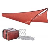 China Waterproof Triangle Sun Shade Sails , Canopy Patio Exterior Backyard Shade Sail Netting on sale