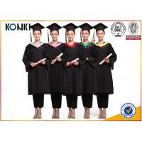 Buy wholesale graduation gowns and mortar board black gowns from China clothing factory at wholesale prices