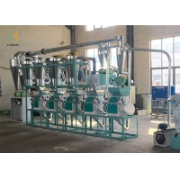 Quality 20 Ton Per Day Mini Corn Flour Milling Machine cleaning packaging function for sale
