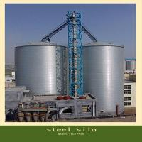 Quality Flat bottom steel silo for wheat storage for sale