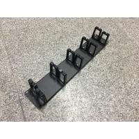 Buy cheap 5 Piece Rings Horizontal Cable Manager , 2u Rackmount Cable Management from wholesalers