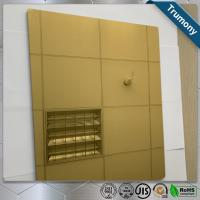Quality High Strength Copper Composite Panel Brushed Mirror Bacteriostatic Decoration for sale