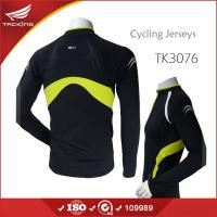 Quality 2015 Breathable Long Sleeve Tight Sports Jersey for Men for sale