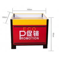 Quality Fashion Design Metal Steel Supermarket Accessories Promotion Display Stands Table for sale