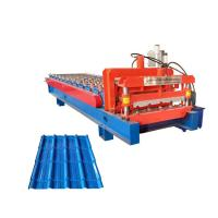 Quality CE Hydraulic Tile Making Machine Glazed Tile Forming Machine With 11 Rollers for sale