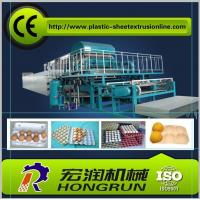Quality Pulp Molding Paper Egg Tray Machinery , CE Paper Egg Tray Machine for sale