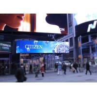 China P10 P16 High Resolution Outdoor LED Billboard / LED Advertising Screens on sale
