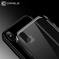 Quality IPhone X Soft TPU Ultra Thin  Cell Phones Covers Cases Transparent Silicon Cover for sale