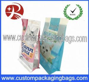 Buy cheap Side Gusset Waterproof Resealable Plastic Dog Pet Food Packaging Bags from wholesalers