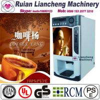 Quality price of coffee machine  raw material 3 in 1 microcomputer Automatic Drip coin operated instant for sale