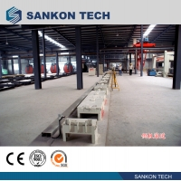 Quality Brick Moulding Machines Auto Moving 0.37Kw L1415mm Side Rolling Guide for sale