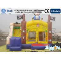 Quality Pirate Ultimate Combo Inflatable Bounce House Slide Funny Bouncy Castle for sale