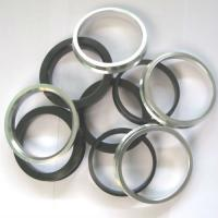 Quality Universal Wheel Hub Centric Rings Black Grey Yellow White Sliver Color for sale