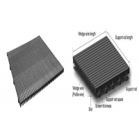 Quality Mill Grade Stainless Steel Wedge Wire Screen , Aisi Wire Screen Filter for sale