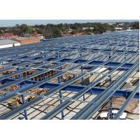 Quality Hot-Rolled Industrial Steel Buildings Fabrication For Portable Cabins for sale