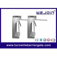 Quality Security Control Tripod Turnstile Gate , Turnstile Entry Systems 1 Year Warranty for sale