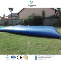 Quality 20000LPVC Flexible and Movable agriculture watering system tanks/water treatment for sale