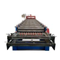 Buy Customized Steel Tile Double Layer Roll Forming Machine With Long Life Time at wholesale prices